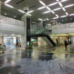 福岡市本庁舎1Fロビー改装工事1