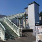 香椎線人道橋昇降機建屋設置工事2